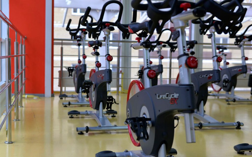 connected home gyms